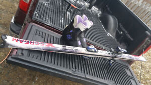 Salomon skis 174cm and throwing in free boots $80