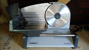 Cuisinart food slicer with manual