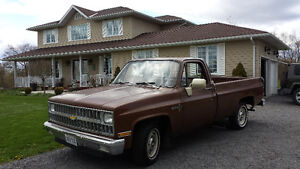 1981 Chevrolet Scottsdale edition Pickup Truck Kingston Kingston Area image 3