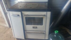 wood and coal stove with oven