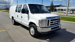 SOLD! 2010 Ford E-250 4.6L Extended Low Kms