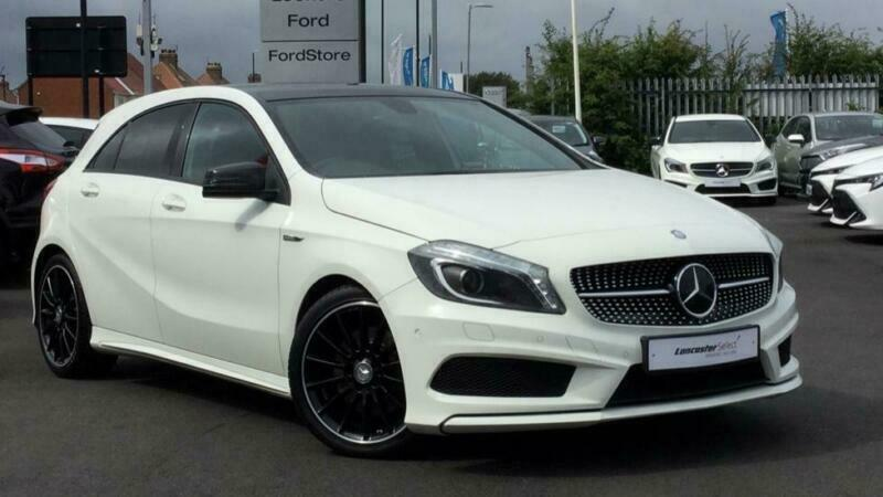 2015 Mercedes-Benz A Class 2 1TD A220 CDI Night Edition Diesel white Semi  Auto | in Sunderland, Tyne and Wear | Gumtree
