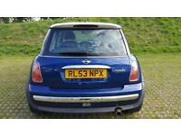2003 Mini1.6 Cooper FULL SERVICE AND LONG MOT