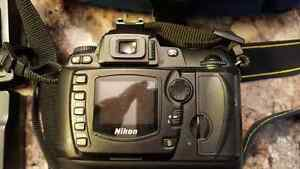 Nikon d70 dslr body only with accessories.
