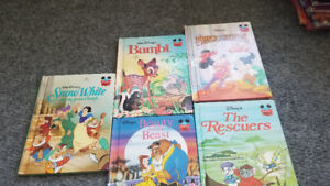 Bambi-The prince and the pauper-Snow white and the seven dwarfs.