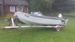 1995 LOWE 1605 boat for sale