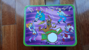 Scooby Doo puzzle and lunch box