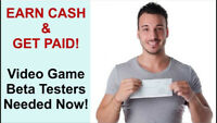 DO YOU WANT TO GET PAID FOR PLAYING GAMES WHILE AT HOME!!!!