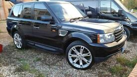 2008 Land Rover Range Rover Sport 2.7TD V6 auto FSH Stunning supercharger looks