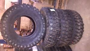 Set of 4 tires: 37/12.50R17 Westlake Mud Legend