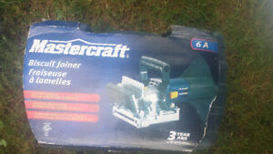 Mastercraft Biscuit Joiner. Brand New!