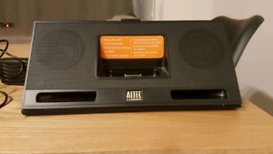 ALTEC LANSING IMT325 SPEAKER DOCK FOR AUX 30 PIN IPOD/CHARGER