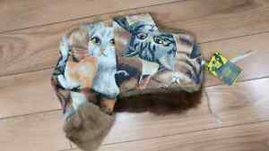 Homemade Trapper Hats Fur Wool blankets Star Wars Cats plaid London Ontario image 5