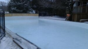* BACKYARD 16' by 20' ICE RINK TARP *