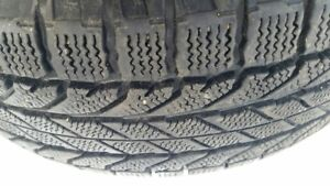 Two Winter Tires