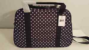 "NWT Kate Spade ""Milla"" Spot Nylon Weekend/Carry-on/Duffel Bag Stratford Kitchener Area image 3"
