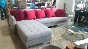 Designer Sectional Couch for sale