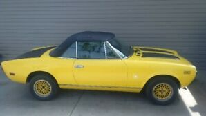 Spring is here Enjoy this 1980 Fiat spider all summer