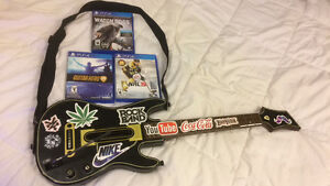 Guitar Hero Live for ps4, watch dogs and nhl 15 also included London Ontario image 1