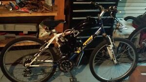 80cc GAS POWERED MOUTAIN BIKE ONLY $350 END OF SUMMER SALE