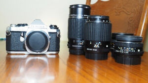 Pentax Film Camera and lenses for sale.