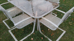 Patio table and 6 chairs Peterborough Peterborough Area image 3