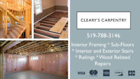 Cleary's Carpentry