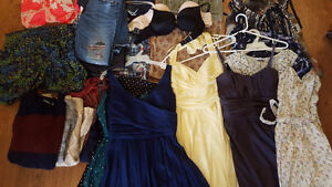 COMPLETE WOMENS SIZE SMALL WARDROBE, including 8 dresses!!!