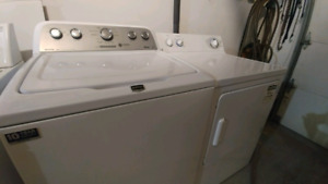 Washer and dryer pair