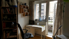 **LARGE DOUBLE ROOM WITH PRIVATE BALCONY**MILE END**AVAILABLE NOW**