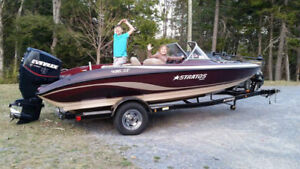 2007 stratos 486SF  bass boat