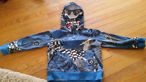 Toddler Volcom monster hoodie