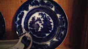 Antique Flow blue / Wedgewood many other assorted China Kingston Kingston Area image 7
