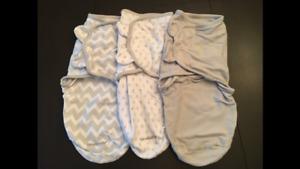 Summer infant swaddleme. - small/med - 3 pack
