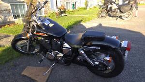 Moto, Honda Shadow
