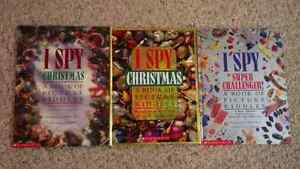 3 I spy Children's books