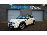 2013 13 MINI HATCH ONE 1.6 ONE D 3D 90 BHP PAN SUNROOF DIESEL