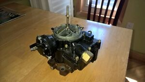 Like new - 2 barrel Rochester carb for Mercruiser 5.0L and 5.7L