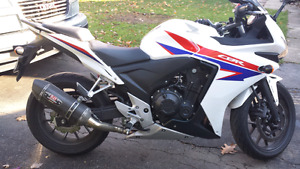 Honda CBR500R ABS MINT. Rare Tri-colour 2013
