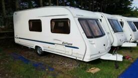 2005 Sterling Europa 520 4 Berth End Washroom Side Dinette Caravan