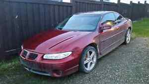 PARTS 2002 Pontiac Grand Prix Supercharged