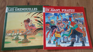 Lot of 2 books in french