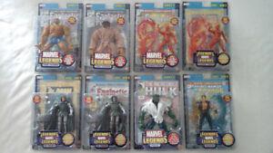 original marvel legends series 2 toybiz (2002) 8 figures MIP