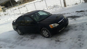 2002 Honda Civic Berline automatique 2500 $,,514 571 6904 text