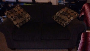 Couch plus loveseat