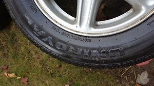 mags avec pneus Saint-Hyacinthe Québec image 6
