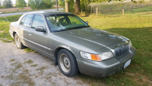1999 Mercury Grand Marquis.