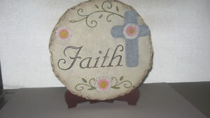 """Faith"" Garden Tile"