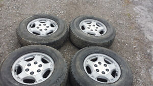 Mounted Balanced And Ready To Go Tires 245 70 16