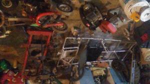 Polaris sportsman .ptv. Gokart . lawn mower chassis .
